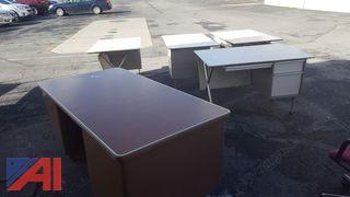 Assorted Metal Desks
