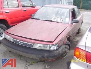 1989 Toyota Camry Sedan