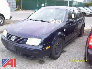 2000 Volkswagon Jetta Sedan