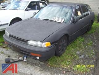 1992 Honda Accord Sedan