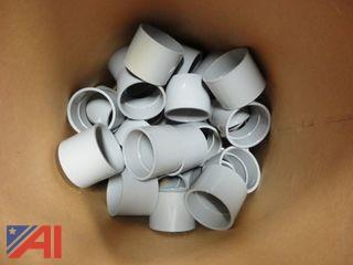"PVC 3"" Couplings, (Approx. 275)"