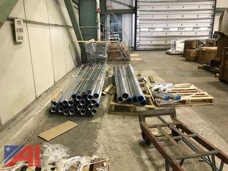 "3"" and 4"" Aluminum Conduit and Ells"