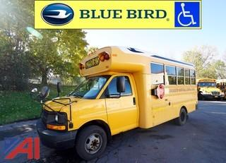 2009 Chevrolet 3500 Bluebird Wheelchair Bus