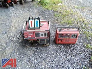 Honda and Lightnin Bug Homelite Generators