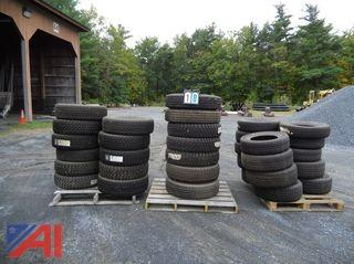 Tires, (3) Pallets