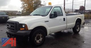 2005 Ford F250 XL SD Pickup Truck