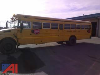 2007 International 3300 School Bus with Wheel Chair Lift