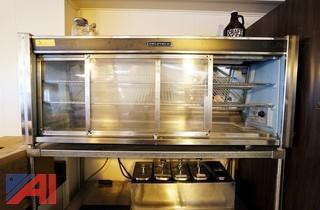 Delfield Refrigerated Dessert Case and Rack