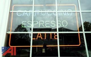 Neon Espresso Sign