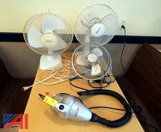 Fans & Hand Vacuum