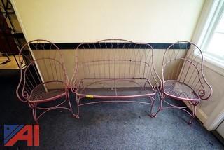 Matching Patio Furniture Set