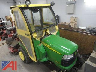 John Deere X595 Riding Lawn Mower