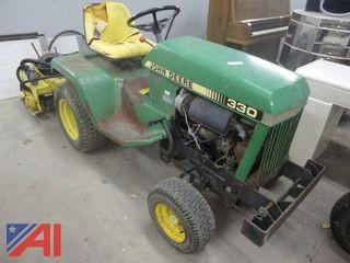 "John Deere 330 48"" Riding Lawn Mower"