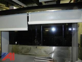 "Federal RSSM-678SC 71"" Vertical Open Air Cooler w/ Rear Loading"