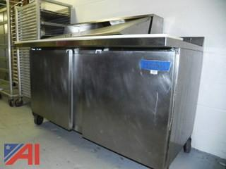 McCall Salad Cooler on Wheels