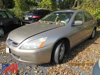 2005 Honda Accord 4 Door
