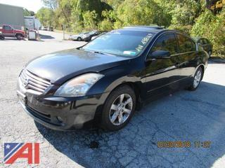 2007 Nissan Altima 4 Door