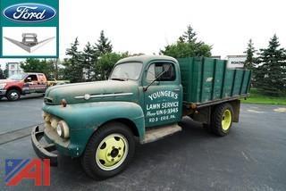1952 Ford F4 Dump Truck