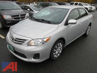 2013 Toyota Corolla Sedan