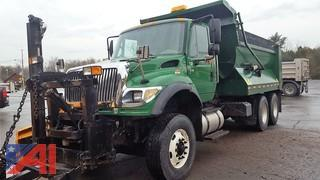 2005 International Work Start 7600 Dump Truck & Plows