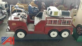 Vintage Coin Operated Firetruck