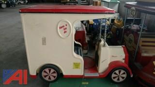 Vintage Coin Operated Ice Cream Truck