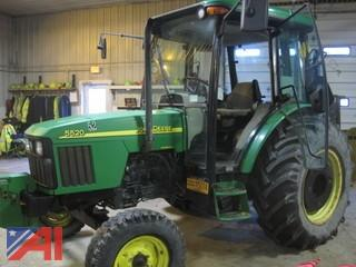 2003 John Deere 5520 Tractor with Cab