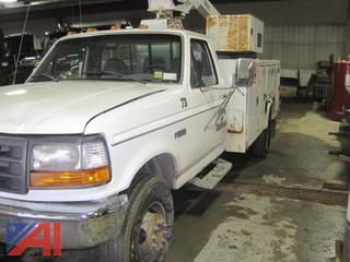 1997 Ford F450 SD Utility Truck