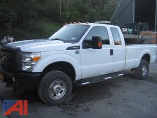 2013 Ford F350 SD Pickup with Plow and Sander