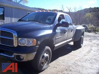 2005 Dodge Ram 3500 Dually Pickup