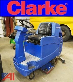 Clarke Boost #32 Ride On Floor Scrubber