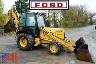 1995 Ford 555D 4WD Loader Backhoe