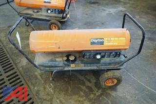 Dayton 175,000 BTU Oil Fired Portable Heater