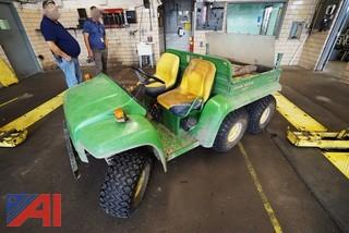 John Deere Gator 6x4 Utlity Vehicle John Deere Gator 6 x 4 Utility Vehicle