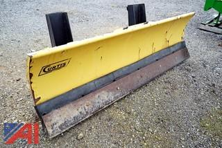 7' Curtis Steel Plow with Frame