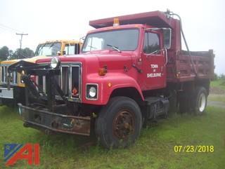 1989 International 2554 Dump Truck