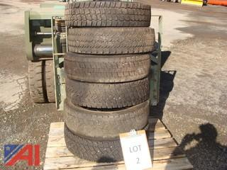 Used General Continental Technology RRR (Rugged Rolling Resistance) 225/70R 19.5 Load Range F