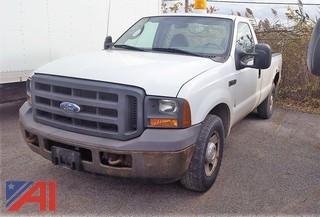 2005 Ford F250 XL Super Duty Pickup Truck