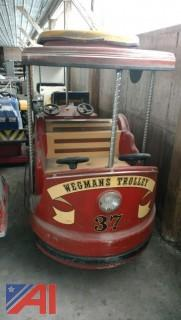 Vintage Coin Operated Wegmans Trolley