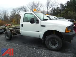 2000 Ford F350 SD Cab and Chassis