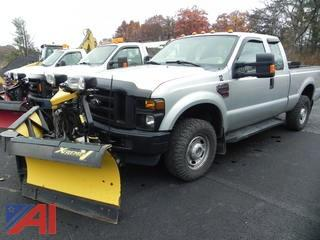 2010 Ford F250 SD Pickup with Plow