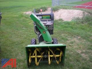John Deere Snowblower, Model #1128DE