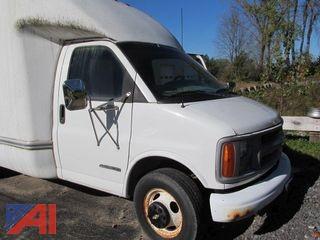 2000 Chevrolet Express 3500 Cube Van