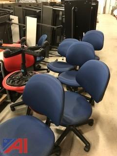 22 Steelcase adjustable height chairs
