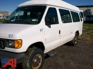 2003 Ford Econoline E350 Wheel Chair Van