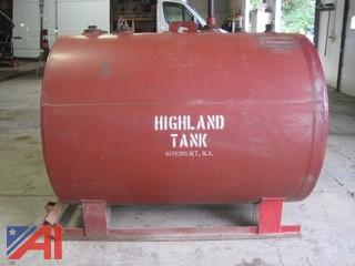 500 Gallon Highland Skid Tank