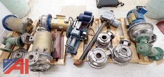Boiler Pumps and Miscellaneous on 2 Skids and More