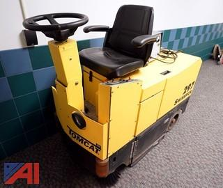 Tomcat #297 Ride On Floor Sweeper with Charger