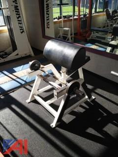Body Masters Preacher Curl Bench