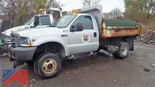 2004 Ford F350 SD XL Dump Truck
